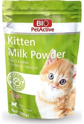 Bio Pet Active Yavru Kedi Süt Tozu 200Gr