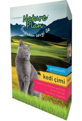 Nature Plan Kedi Çimi 500Ml