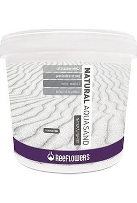 Reeflowers Natural Aquasand Beyaz Akvaryum Kumu 1Kg ( 0.5-1Mm) Açık