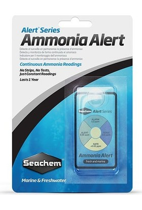 Seachem Ammonia Alert Amonyak Göstergesi