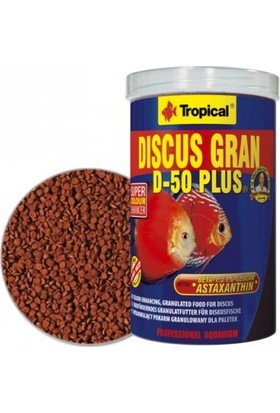 Tropical Discus Gran D-50 Plus 1000Ml 380Gr.