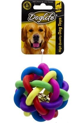 Doglife Köpekler İçin Plastik Coloured Ball XL Oyuncak