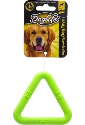 Doglife Köpekler İçin Kauçuk Triangle Oyuncak