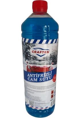 Craften Antifrizli Şampuanlı Oto Cam Suyu -21 Derece 1 lt
