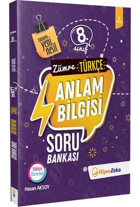 Hiper Zeka Yayınları Zümre 8. Sınıf Türkçe Anlam Bilgisi Soru Bankası