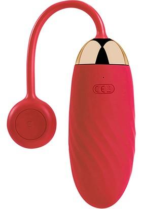 Svakom - Ella Kırmızı Telefon Uyumlu Vibratör