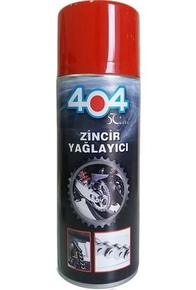 404 Motosiklet Bisiklet Zincir Yağı Spreyi 400 ml