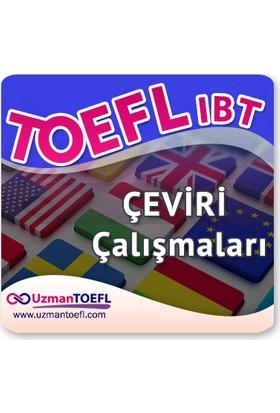 Uzman Uzmantoefl - Online Toefl Ibt Çeviri Çalışmaları - 3 Aylık