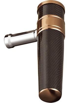 Maxel Carbon T Bar Gray Makine Kolu