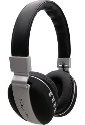 W570BT Kablosuz Bluetooth Kulak Üstü Mikrofonlu Kulaklık Siyah