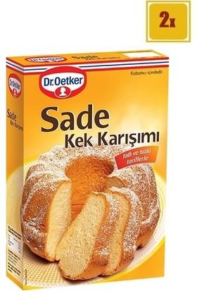 Dr.Oetker Sade Kek Karışımı 450 gr x 2