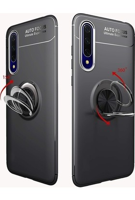Coverzone Huawei P Smart Pro 2019 Novel Kılıf Silikon Kılıf Nvl Rose Gold