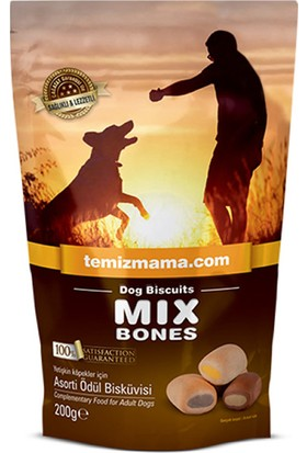 Bones Köpek Maması Mix Bones Ödül Bisküvisi 200 gr