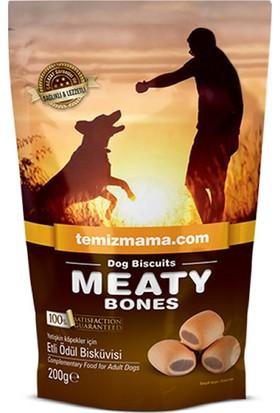 Bones Köpek Maması Meaty Bones Etli Ödül Bisküvisi 200 gr