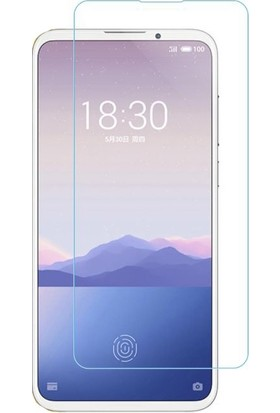 Eiroo Meizu 16XS Tempered Glass Cam Ekran Koruyucu