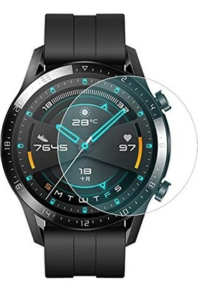Dafoni Huawei Watch GT 2 Nano Glass Premium Cam Ekran Koruyucu 46 mm