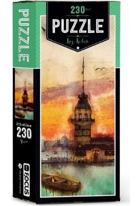 Blue Focus 230 Parça Puzzle-Kız Kulesi