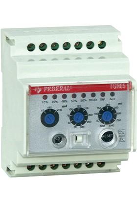 FEDERAL Elektrik FGR 0,03 - 30A Kaçak Akım Algılama Rölesi