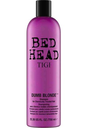 Tigi Bed Head Dumb Blond Boyalı Saç Şampuanı 750 ml