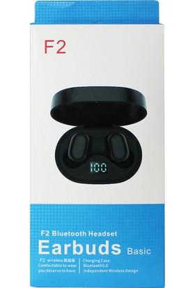 Glr F2 5.0 Kablosuz Çift Mikrofonlu Bluetooth Kulaklık