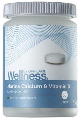 Welness By Oriflame Marine Kalsiyum ve D Vitamini Içeren Takviye Edici Gıda