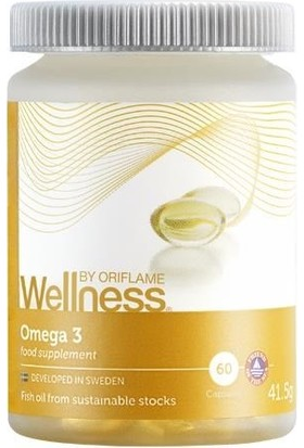 Welness By Oriflame Oriflame Omega 3 Takviye Edici Gıda