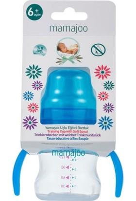 Mamajoo Kulplu Eğitici Bardak 150 ml Mavi