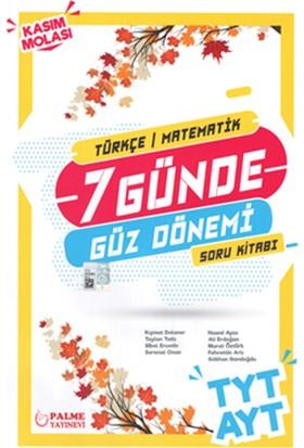 Palme Yayınları LGS 7 Günde Güz Donemi Soru Kitabı Bir Adet Deneme İlaveli