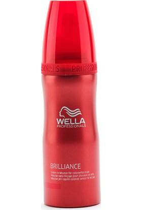 Wella Brilliance Leave In Mousse Boyalı Saçlar Için Durulanmayan Saç Bakım Köpüğü 200 ml