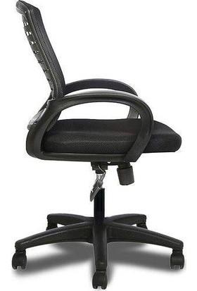 Sers Mobilya Ofis Sandalyesi Siyah