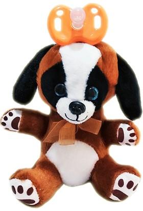 Play Seba Sevimli Köpekçik Peluş Emzik - Uyku Arkadaşı Emzik