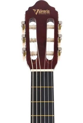 Valencıa Elektro Klasik Gitar 4/4 Siyah Cutaway VC104CEBK