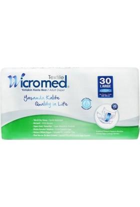 Wicromed Hasta Bezi L 30 Adet