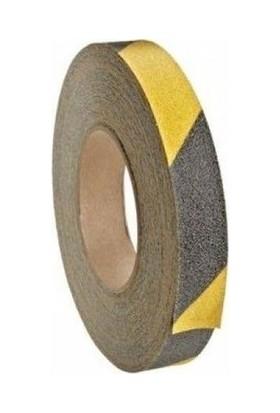 DDK Kaydırmaz Bant Sarı-Siyah 25 mm 15 m