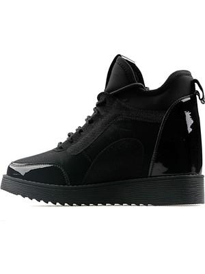 Guja Kadın Günlük Ayakkabı 19K338-4-Sy Siyah Bayan Ayakkabı Siyah