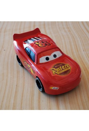 Disney Pixar Cars Movie Lightning McQueen Jackson Storm Playground Ball Toy Red