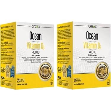 Orzax Ocean Vitamin D3 400 Iu 20 Ml Sprey 2 Adet Fiyati