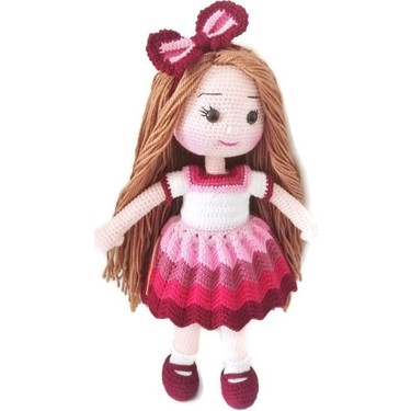 Amigurumi mor bebek elbisesi Yapımı -3# crochet tutorial - How To ... | 375x375