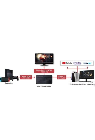 AverMedia GC311 Live Gamer Mini USB 2.0-1080p60 Game Capture Box
