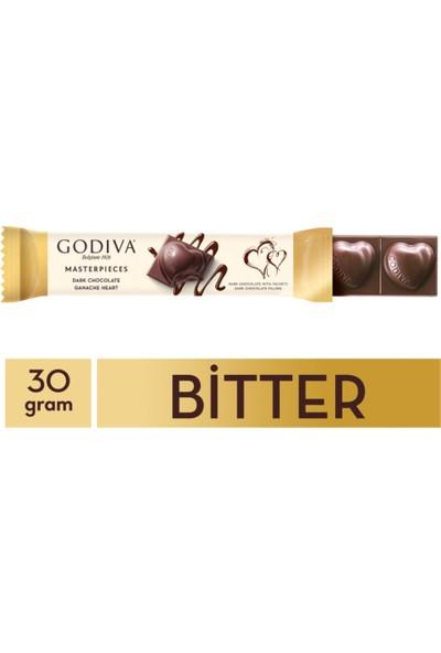 Godiva Bitter Ganaj Çikolata Bar 30 gr x 12 Adet