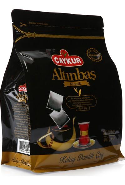 Çaykur Altınbaş Klasik Demlik Poşet Çay 80'li 400 gr