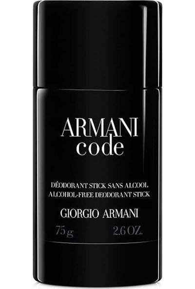 Giorgio Armani Code Deo Stick 75 Ml -Erkek Deo Stick