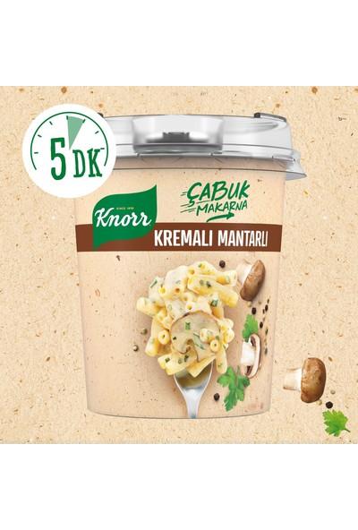 Knorr Çabuk Makarna Kremalı Mantarlı 6'lı Paket 402 gr