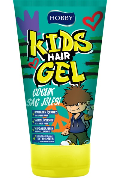 Hobby Kids Hair Jel 150 ml x 24