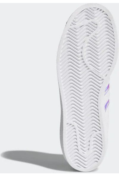 Adidas Aq6278 Süperstar Kadın Spor Ayakkabı Beyaz
