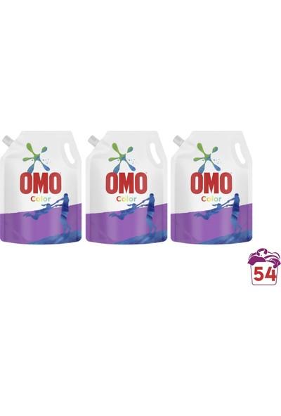 Omo Color Sıvı Deterjan Çevre Dostu Paket 1170 ml 3 Adet