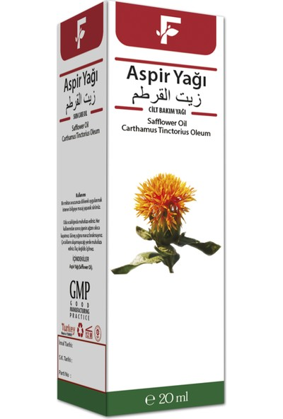 Furkan Aspir Çiçeği Yağı 20 ml