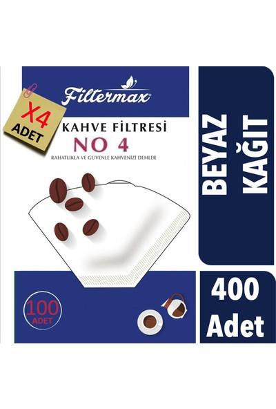 Filter Max Kahve Filtre Kağıdı 4 Numara 400 Adet