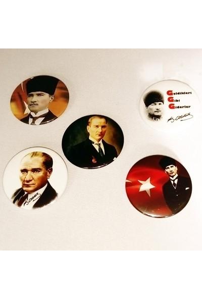 Hediye Panayırı Seri 1 Atatürk Rozetleri 20'li