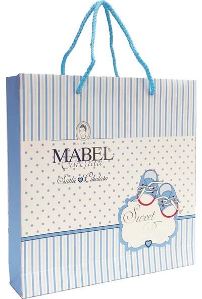 Mabel Sweet Boy Mavi Bebek Çikolatası Hediyelik Kutu 320 gr
